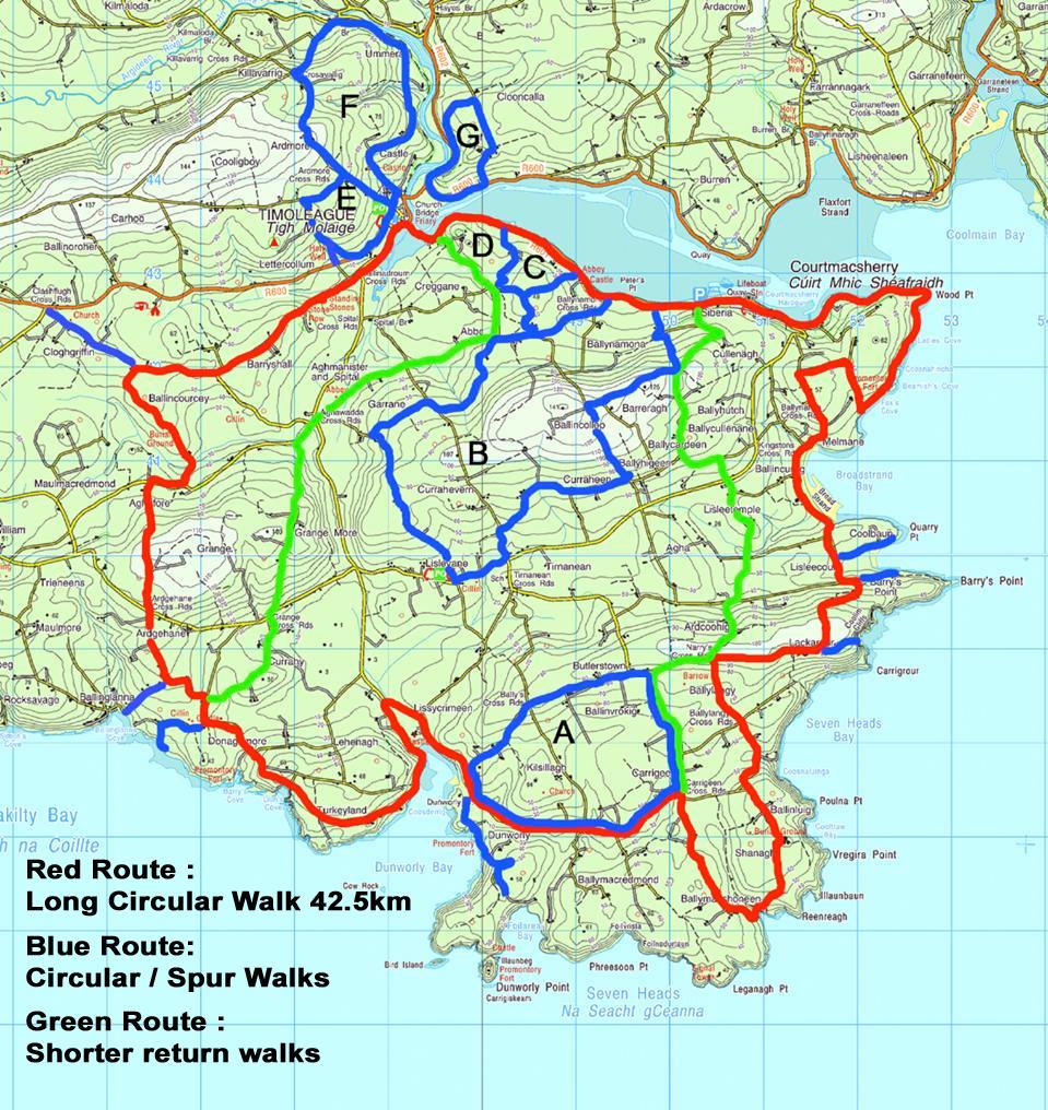 Seven Heads map