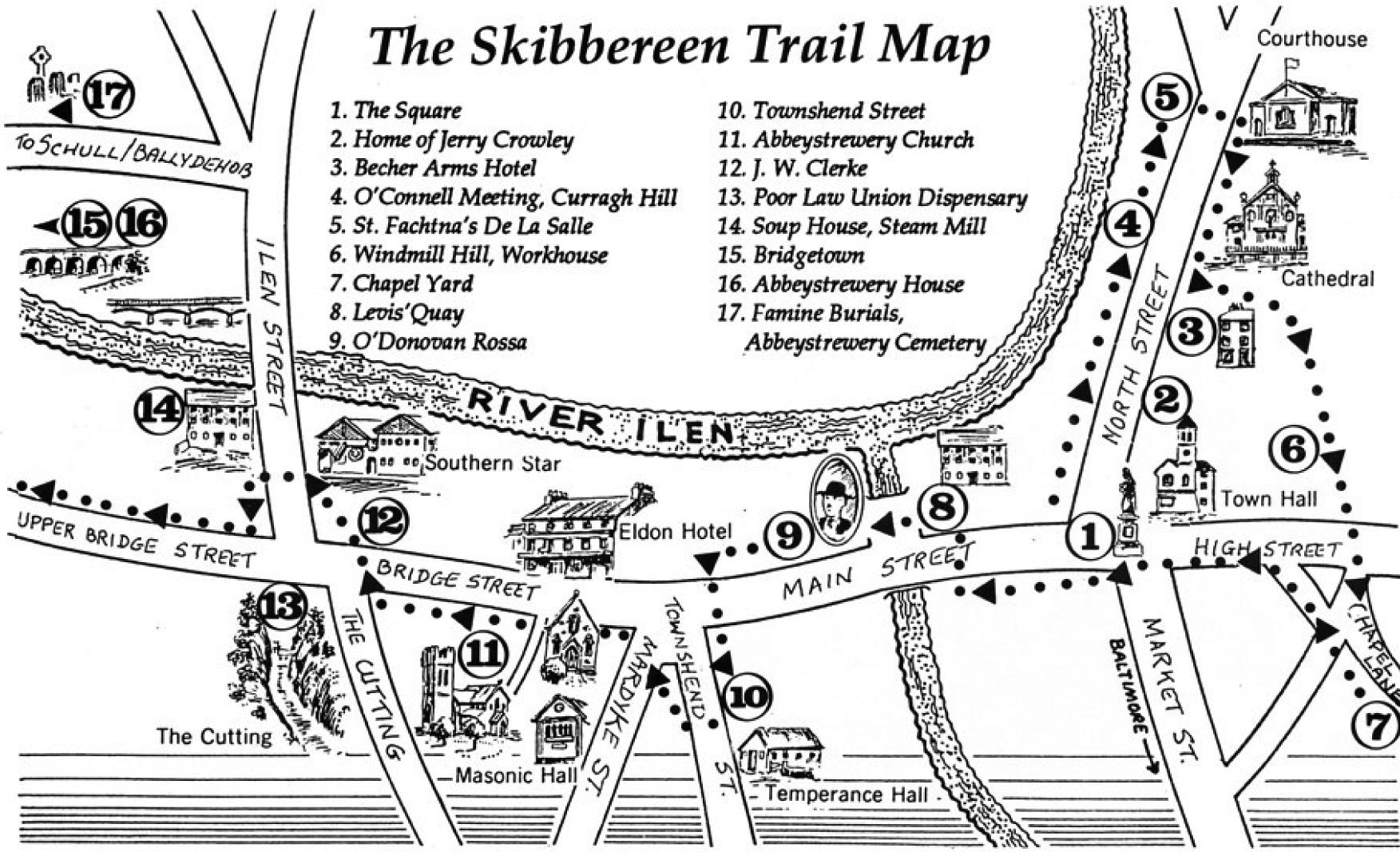 SkibbTrail map