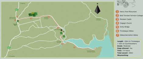 Argideen Valley Trail Map